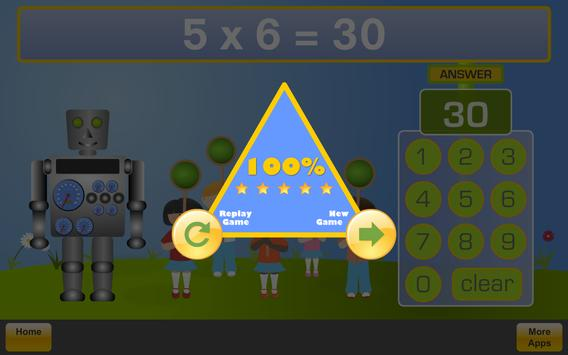 Math Robot apk screenshot