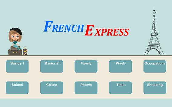 French Express poster