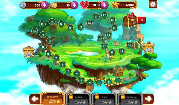 Paradise Solitaire apk screenshot