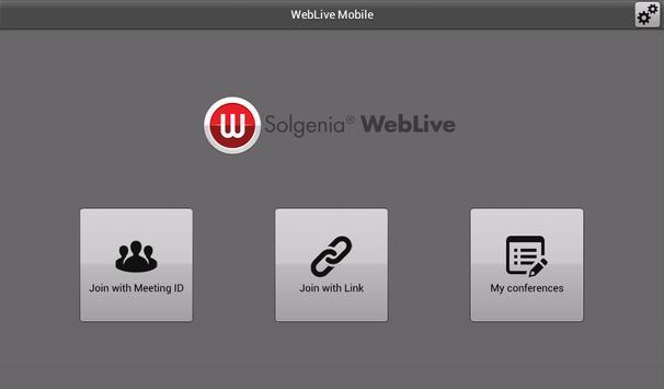 Weblive apk screenshot
