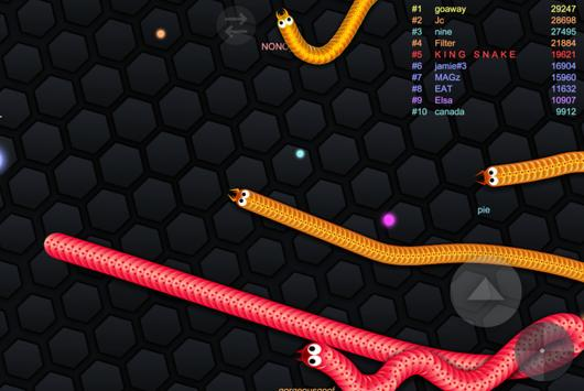 Slitherio Battle - MMO Slither poster