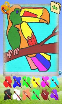 Coloring Game Animals screenshot 3