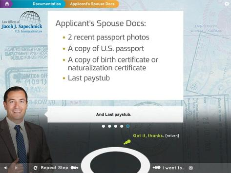 Marriage Based Green Card apk screenshot