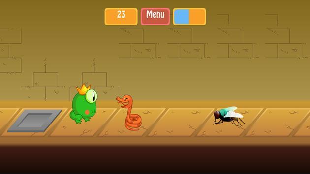 Snake VS Frog poster