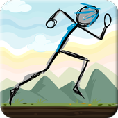 Stickman Double Jump icon