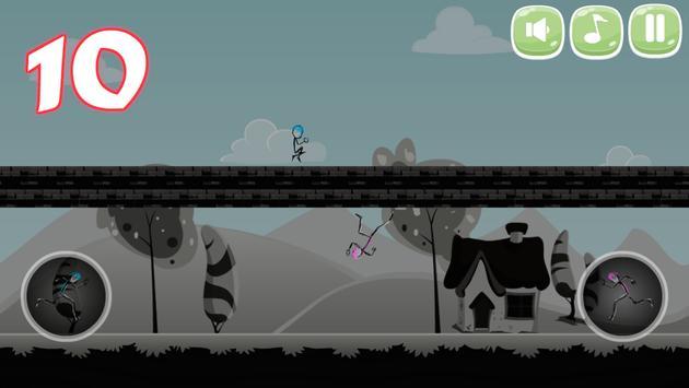 Stickman Double Jump screenshot 14