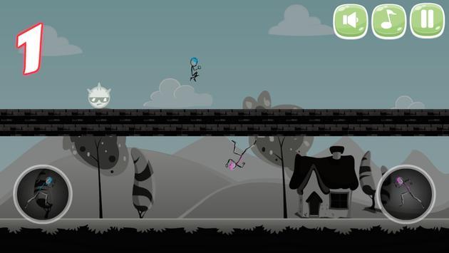 Stickman Double Jump screenshot 13