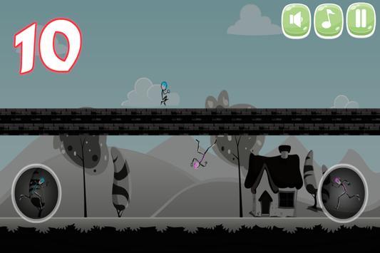 Stickman Double Jump screenshot 9