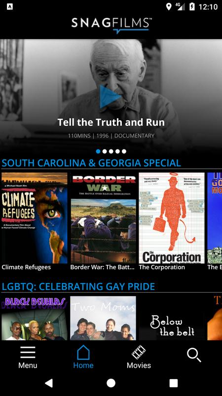 SnagFilms also has special interest gay lesbian movies