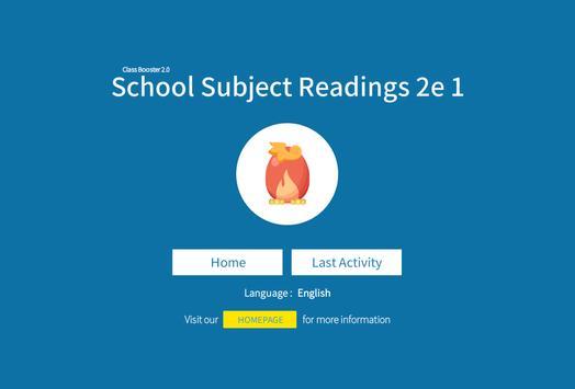 School Subject Readings 2nd_1 apk screenshot