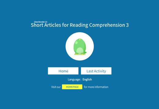 School Subject Readings 2nd_3 apk screenshot