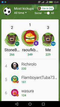 Super⚽Kickups soccer game apk screenshot
