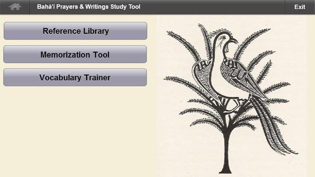 Bahai Study Tool poster