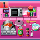 Cooking Game Crazy chef icon