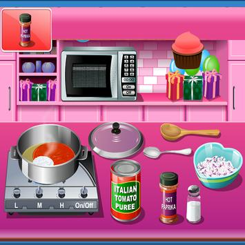 Cooking Game Crazy chef screenshot 1