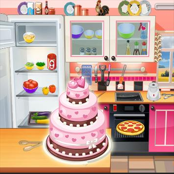 Cooking french Cakes : Cooking Games poster