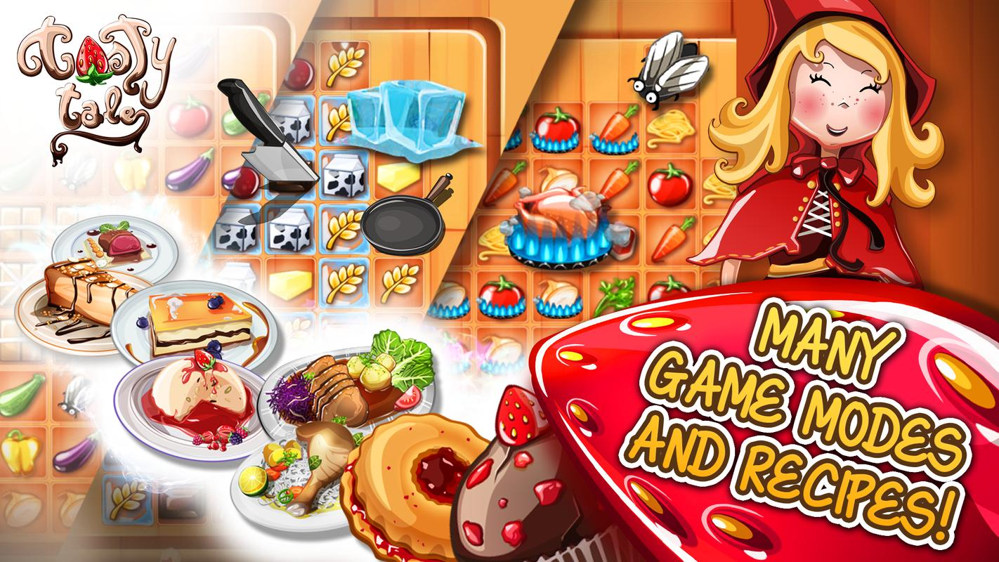Tasty Tale Puzzle Cooking Game Apk Download Free Puzzle