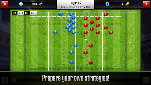 Rugby Manager screenshot 2
