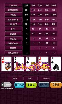 Super Deluxe Video Poker screenshot 3