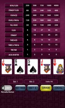 Super Deluxe Video Poker screenshot 2