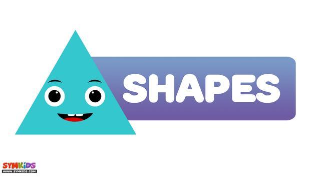 2D Shapes poster