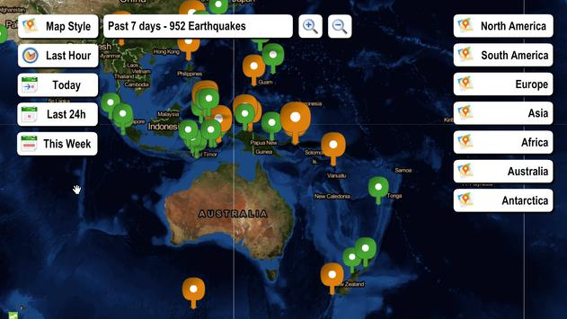 Live earthquake map apk download free weather app for android live earthquake map apk screenshot gumiabroncs Image collections