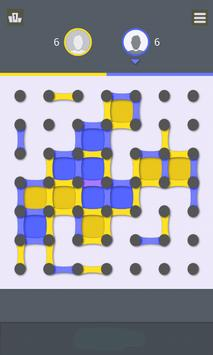 Free Dots and Boxes  - Squares  - Link Dots poster