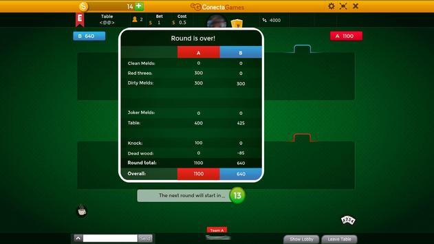 American Canasta apk screenshot