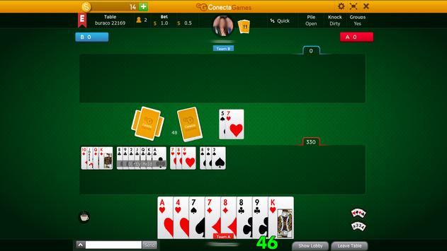 Buraco - Canasta apk screenshot