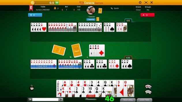 Buraco apk screenshot