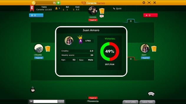 Canasta apk screenshot