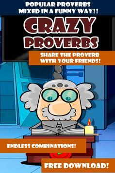Crazy Proverbs apk screenshot