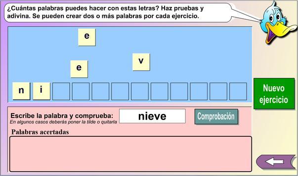 El taller de las palabras 1 apk screenshot