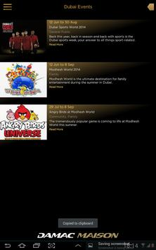 DAMAC Hotels & Resorts apk screenshot