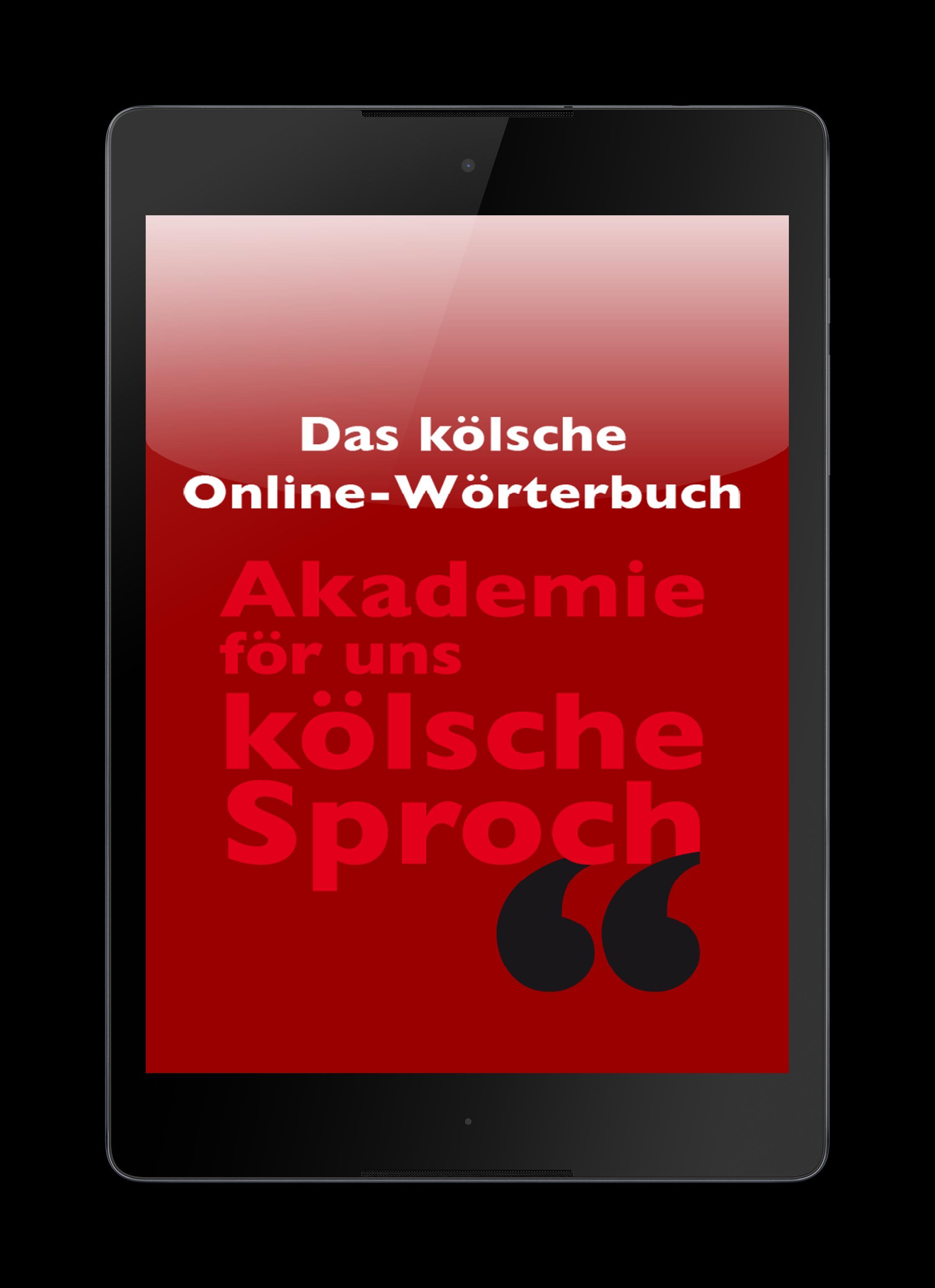 Wörterbuch Deutsch Kölsch