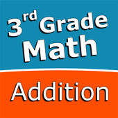 Third grade Math - Addition icon