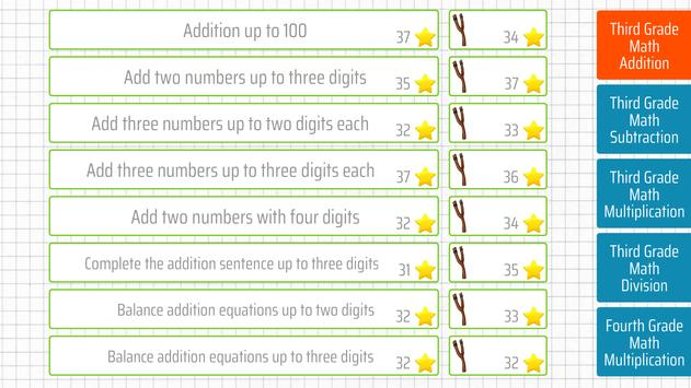 Third grade Math - Addition screenshot 9