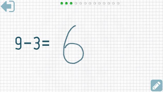 First grade Math - Subtraction screenshot 10