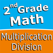 Second grade Math - Multiplication and Division icon