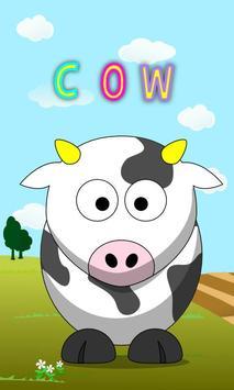 Cute Animal Names Free poster