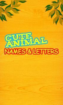 Cute Animal Names Free screenshot 2
