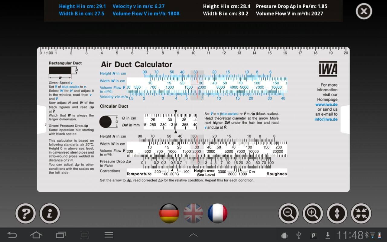 Air Duct Calculator for Android - APK Download