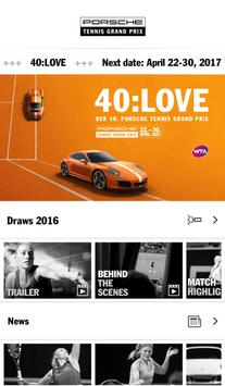 Porsche Tennis Grand Prix poster