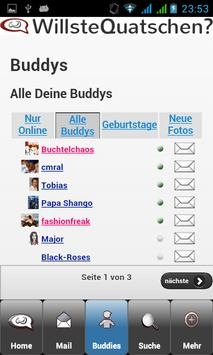 WQ WillsteQuatschen? Die App! apk screenshot