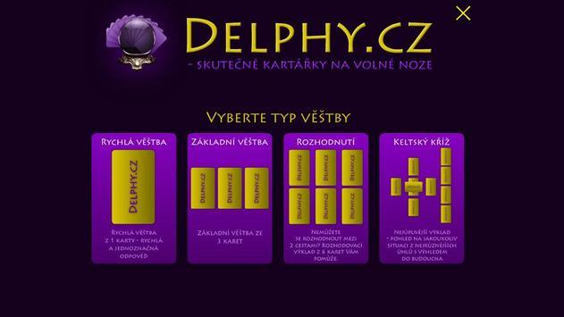 Delphy.cz - tarot online poster