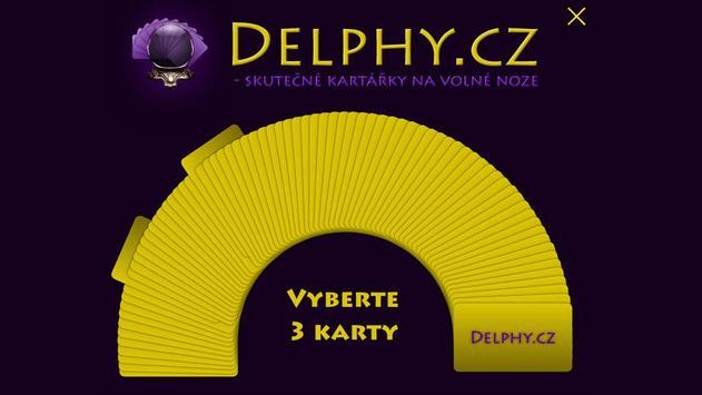 Delphy.cz - tarot online apk screenshot