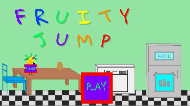 Fruity Jump : Teenagers made this Game! poster
