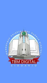 TBM Digital Sidoarjo poster