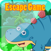 Escape game : Hungry Dinosaur icon