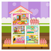 Doll House Decoration icon